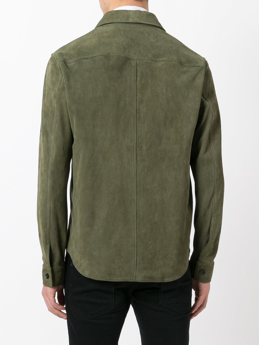 Our legacy - Zipped Suede Jacket - Men - Calf Leather