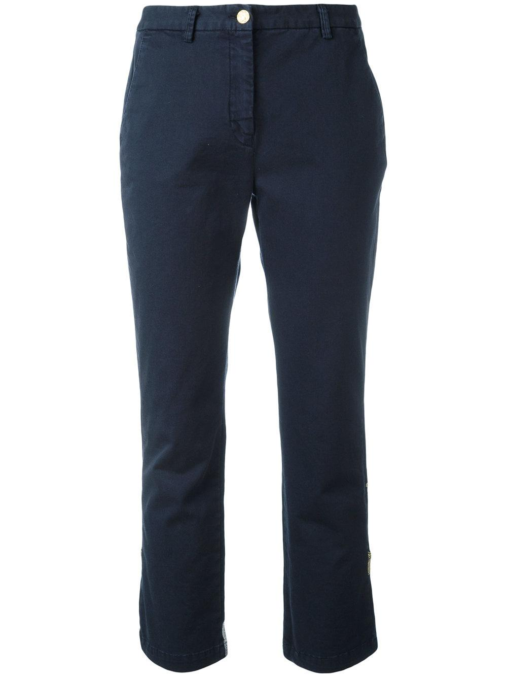 History repeats Cropped Pants in Blue | Lyst