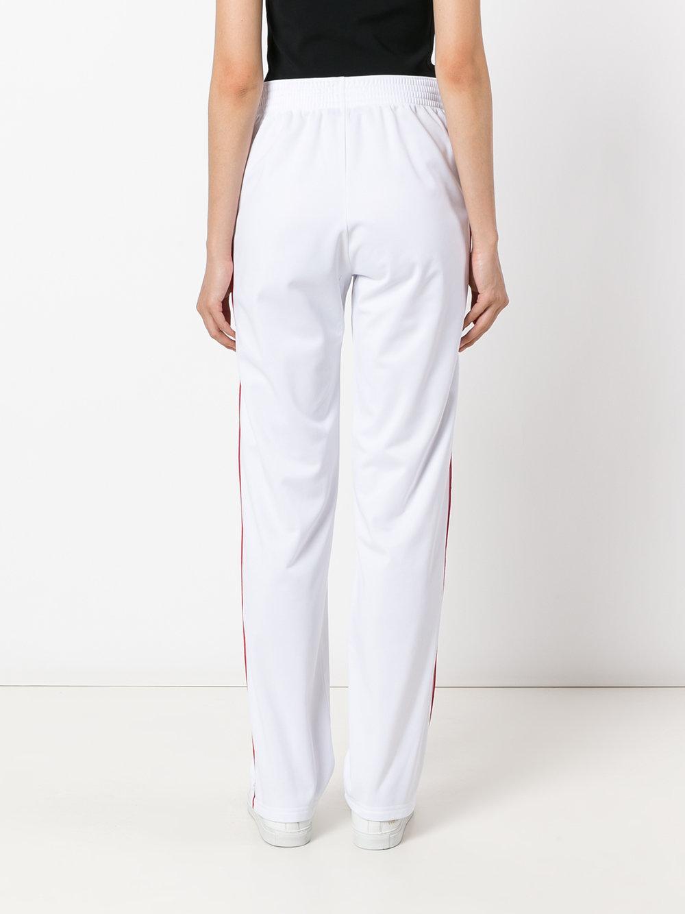 Lyst Givenchy Logo Stripe Track Pants Women Cotton