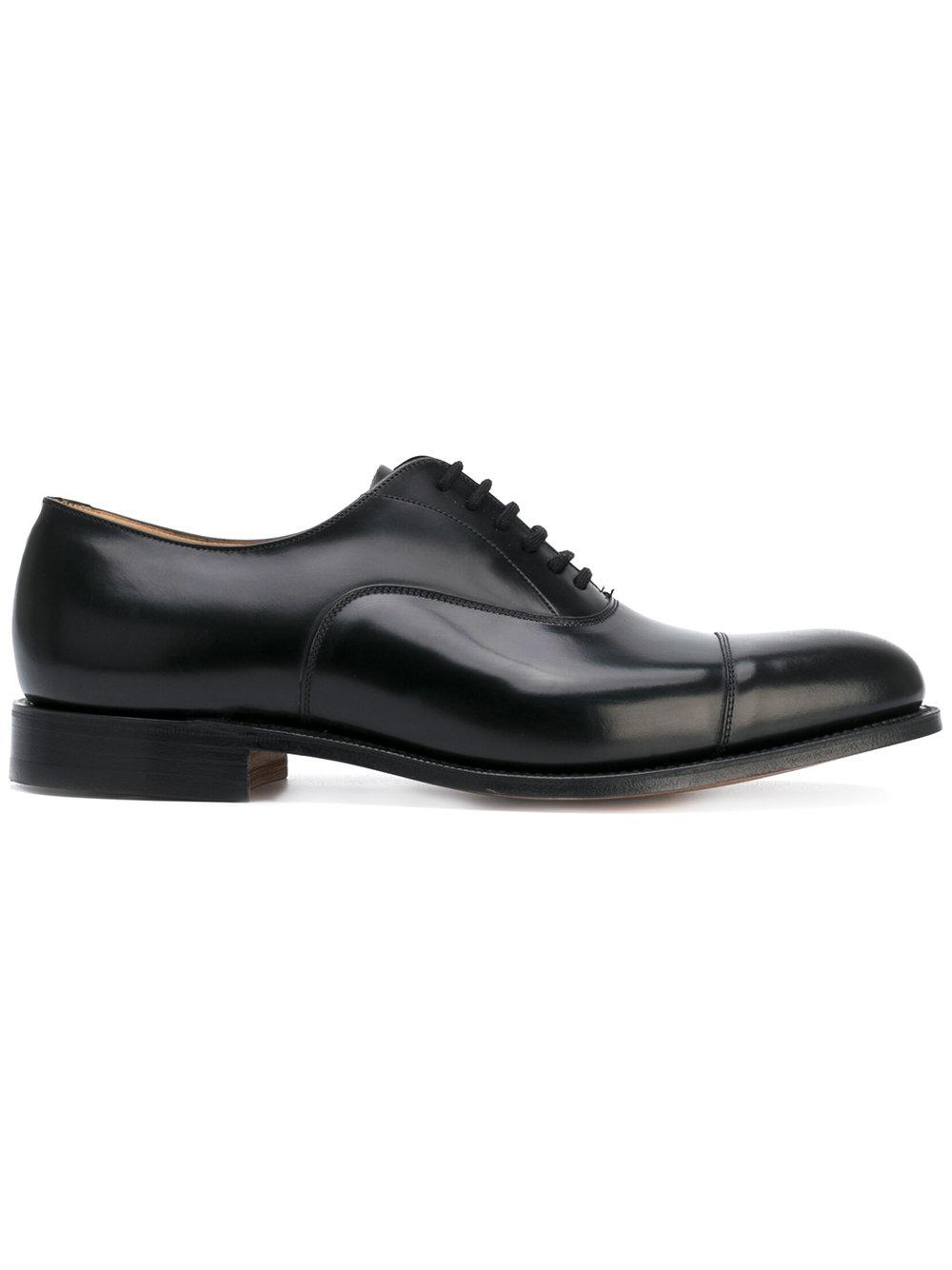 church s lace up shoes in black for lyst
