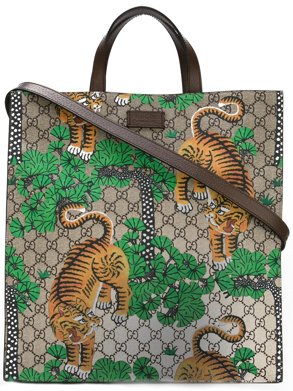 be48d279ac07c2 Gucci - Bengal Gg Supreme Tote - Men - Leather polyurethane - One ...