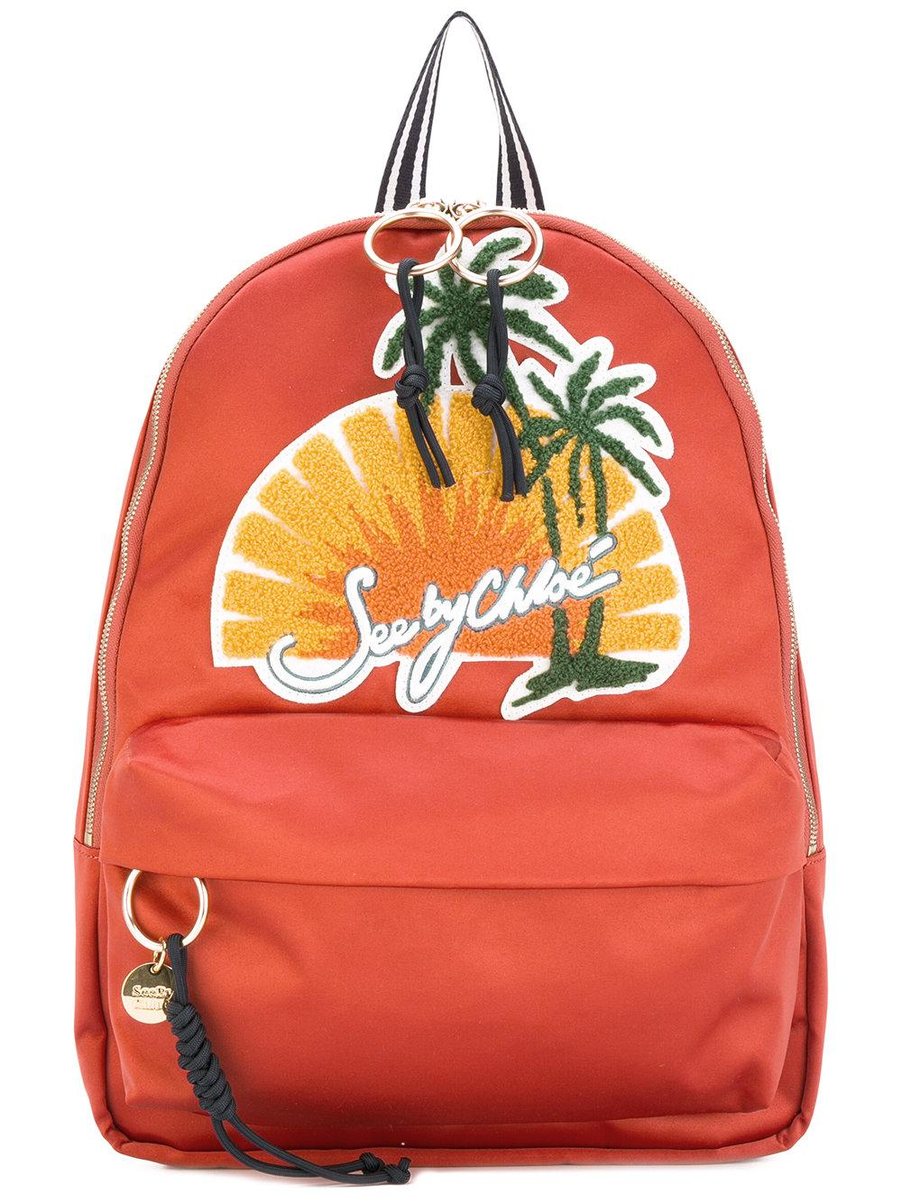 Lyst See By Chlo 233 Sunset Scene Backpack