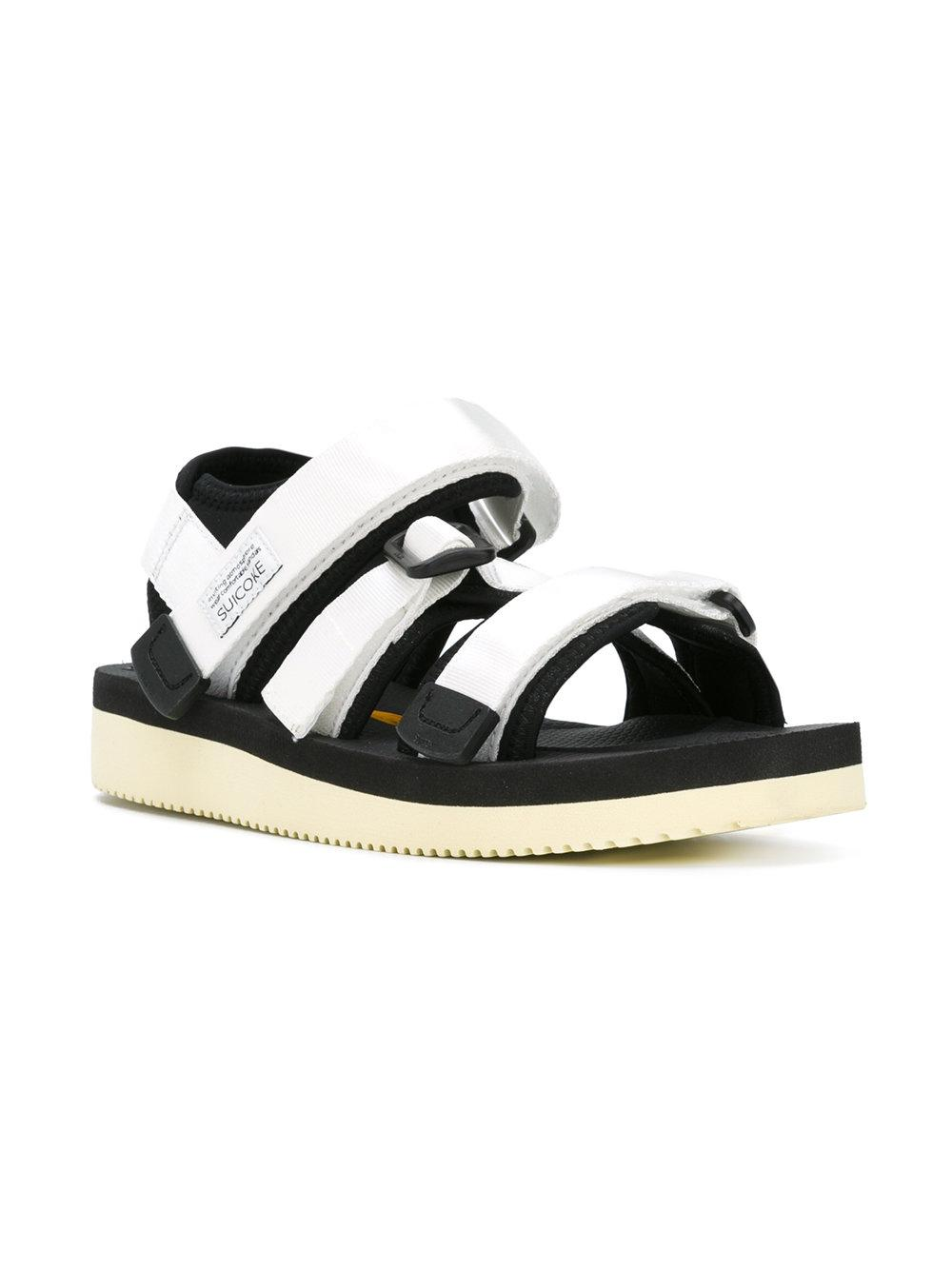 Suicoke Kisee Sandals In White Lyst