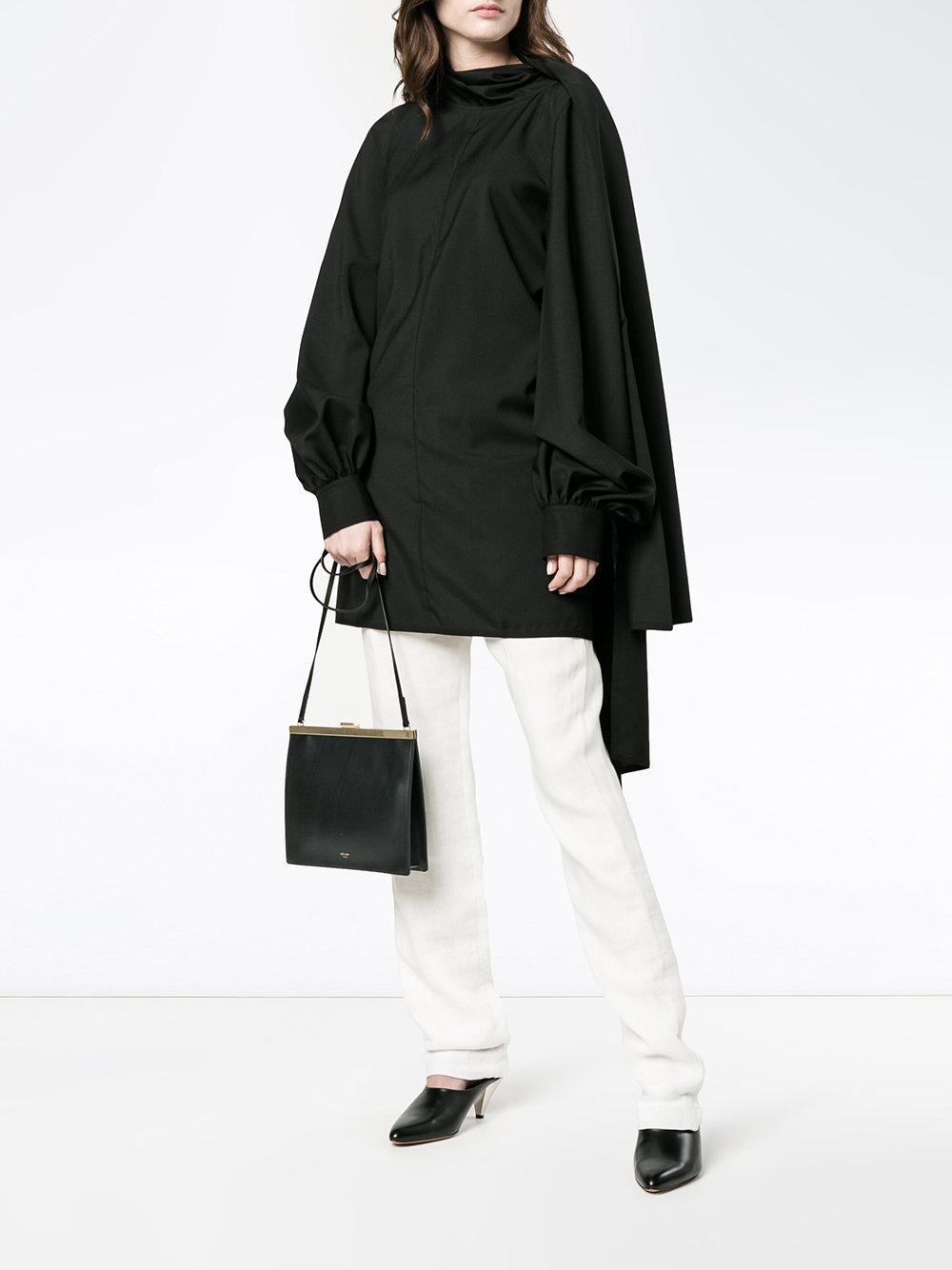 0006a5a80fc5 Lyst - Céline Mini Clasp Cross-body Bag in Black