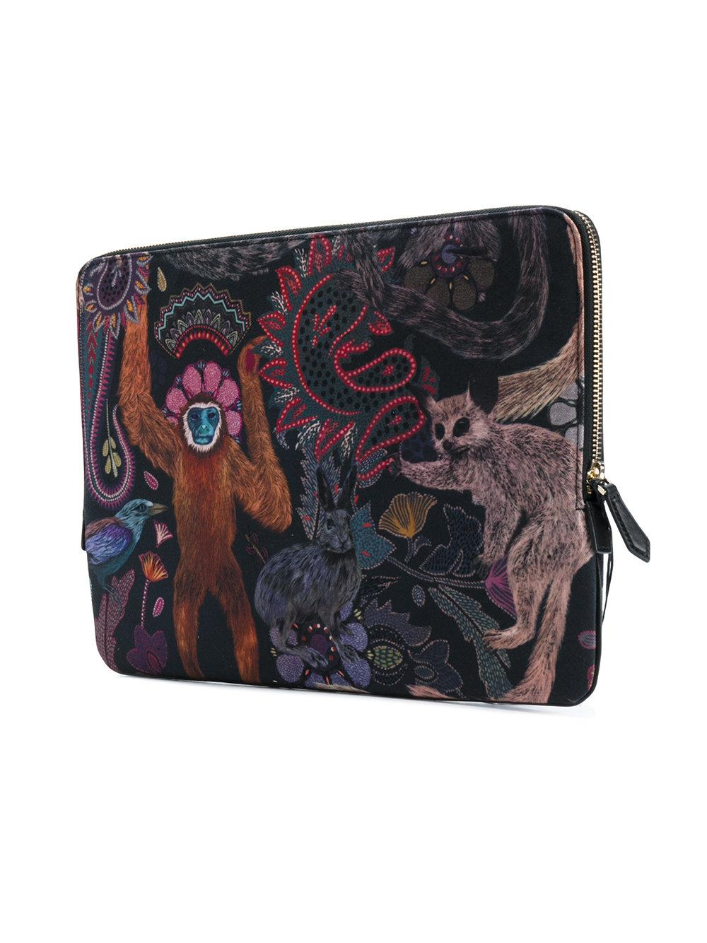 lyst paul smith printed laptop case. Black Bedroom Furniture Sets. Home Design Ideas