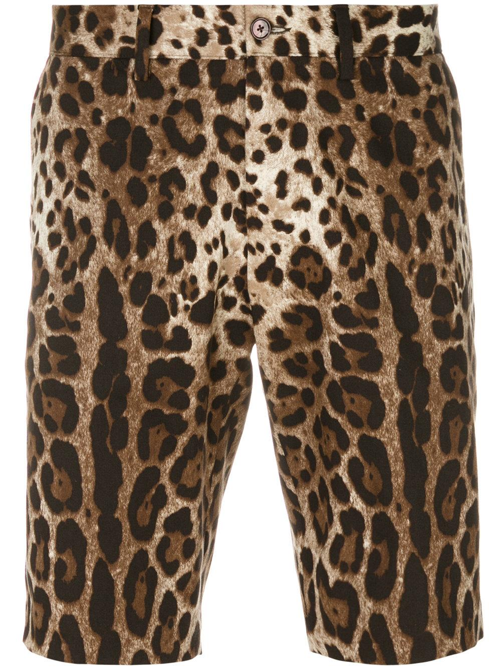 Wholesale Men Leopard Print Shorts