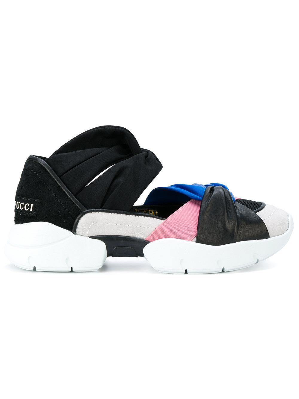 Emilio Pucci Chaussures De Sport Couleur Bloc - Polychromes HBqFoVC5fY