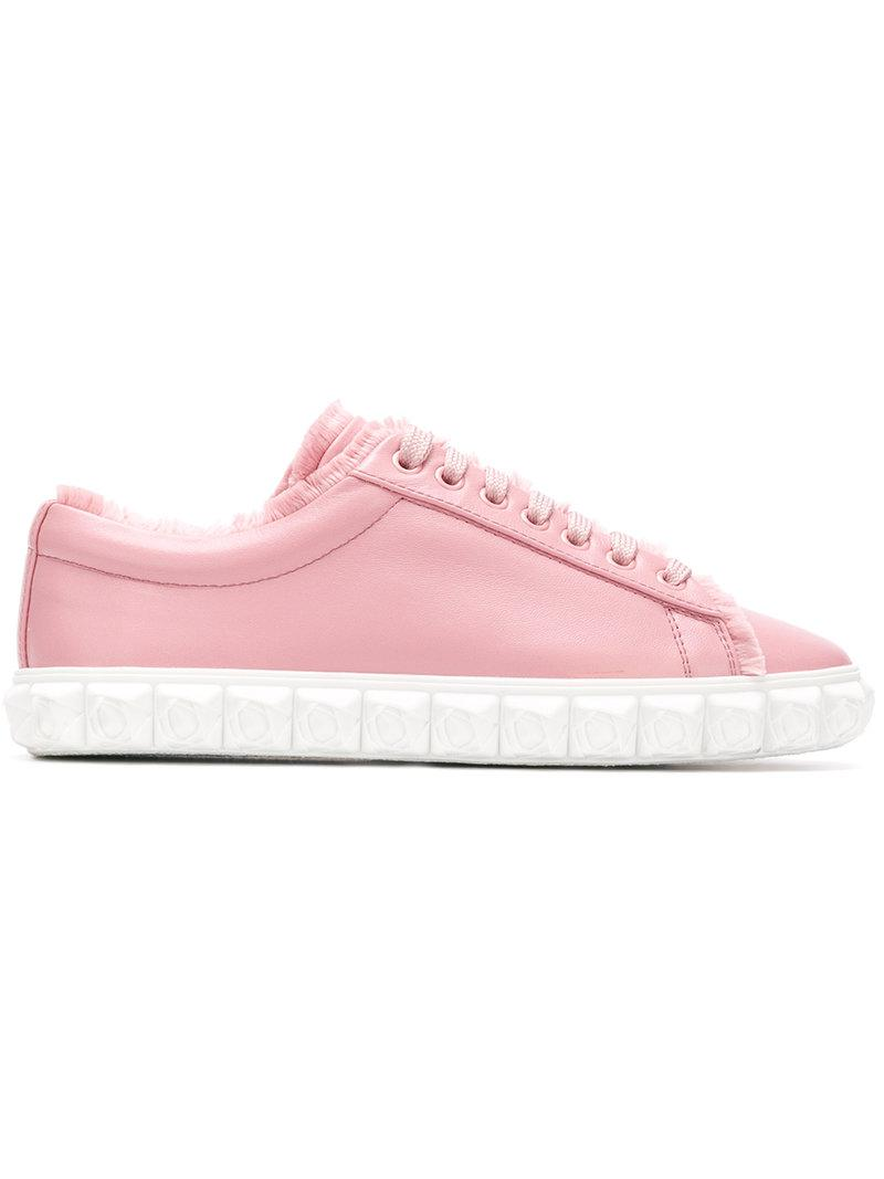 embellished sole sneakers - Pink & Purple Stuart Weitzman
