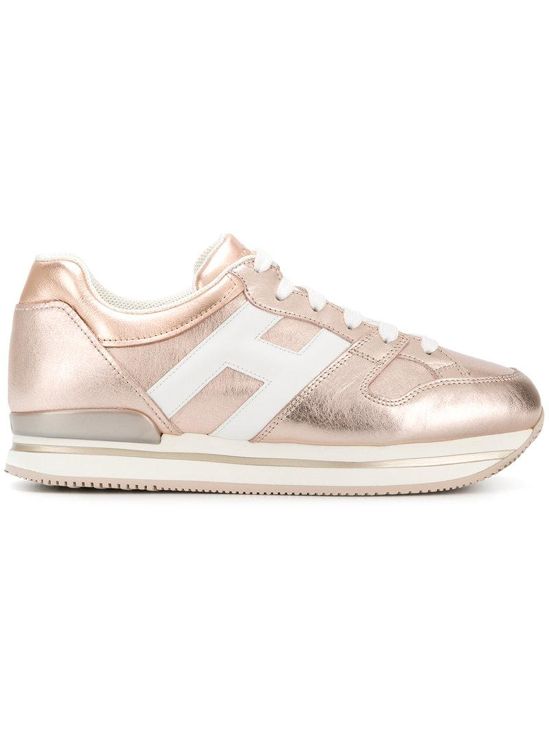 Hogan metallic low-top sneakers the cheapest outlet locations sale online free shipping wiki clearance sale online Eo856NSQ