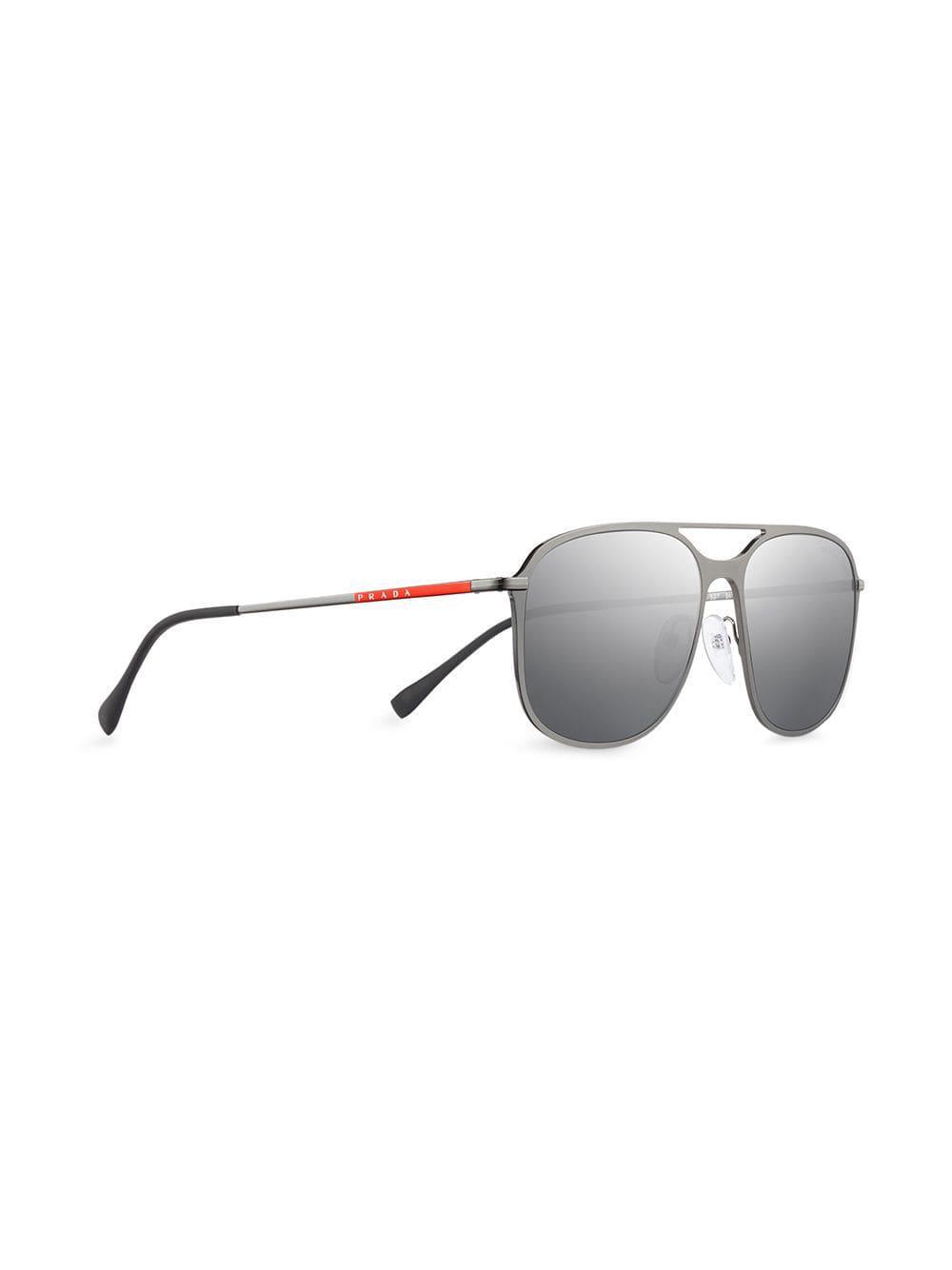 5a2f5265db ... Prada Linea Rossa Constellation Eyewear for Men - Lyst. View fullscreen