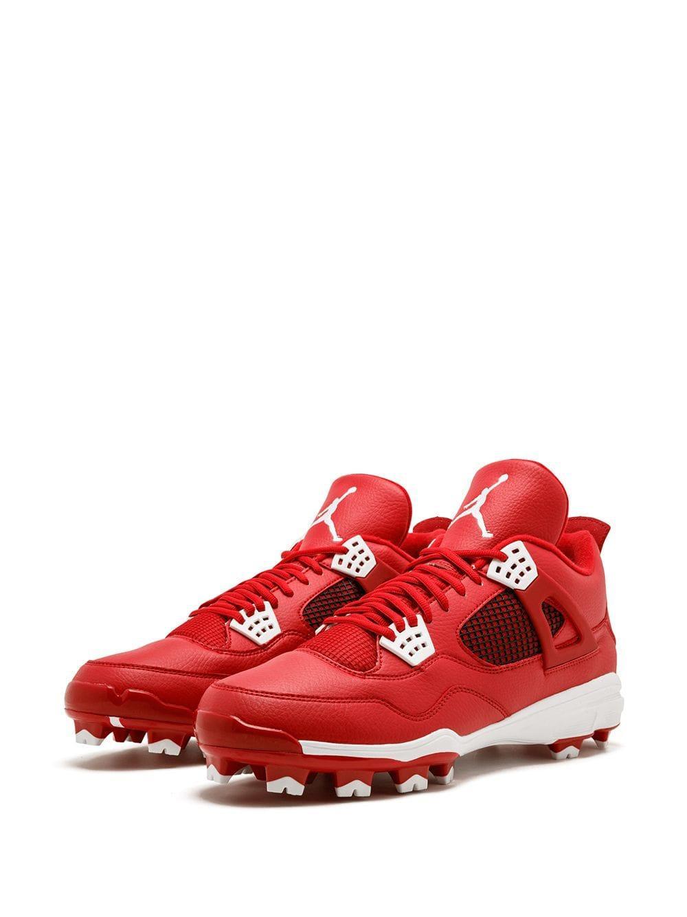 5f7a87dd Nike - Red 4 Retro Mcs Sneakers for Men - Lyst. View fullscreen