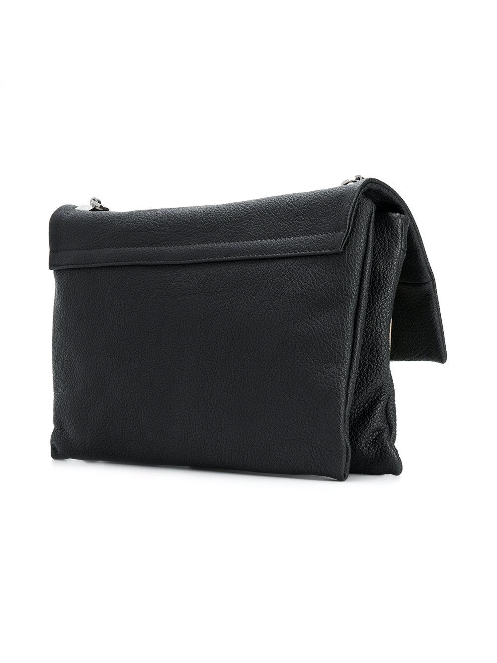 pebbled shoulder bag - Black N EGRxpZ