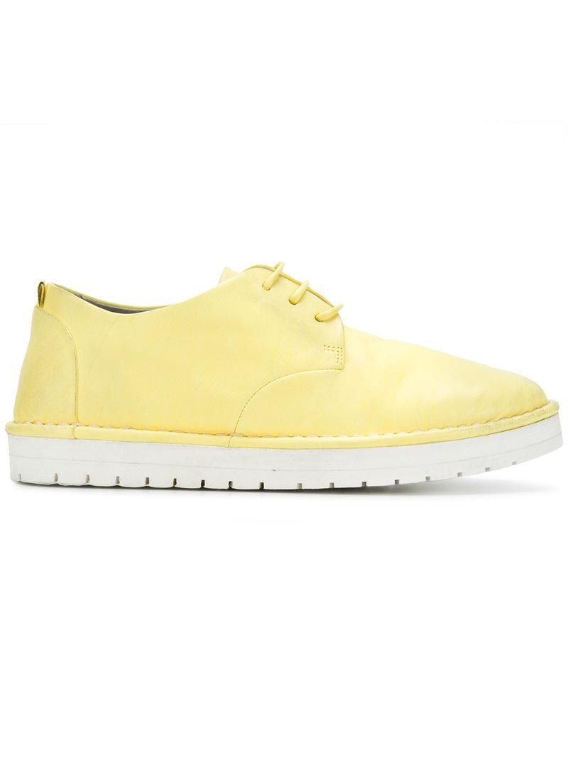 platform lace up shoes - Yellow & Orange Marsèll Latest For Sale mebWP