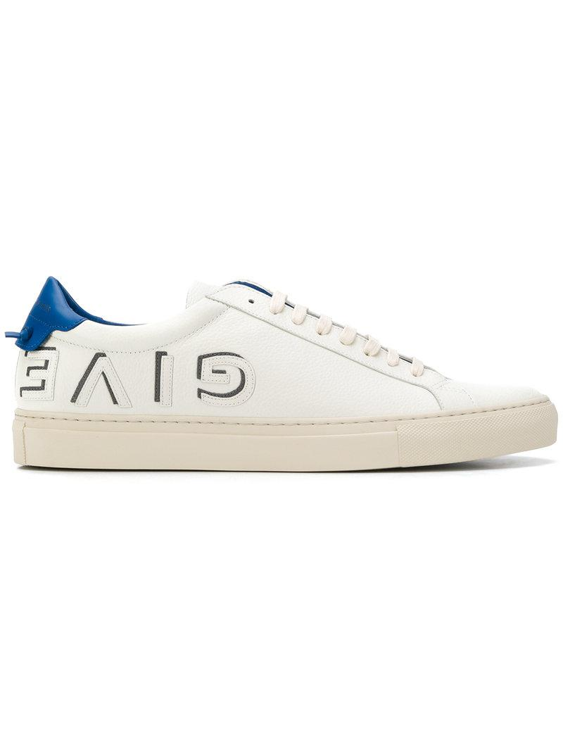 GivenchySide printed logo sneakers IvXRVv