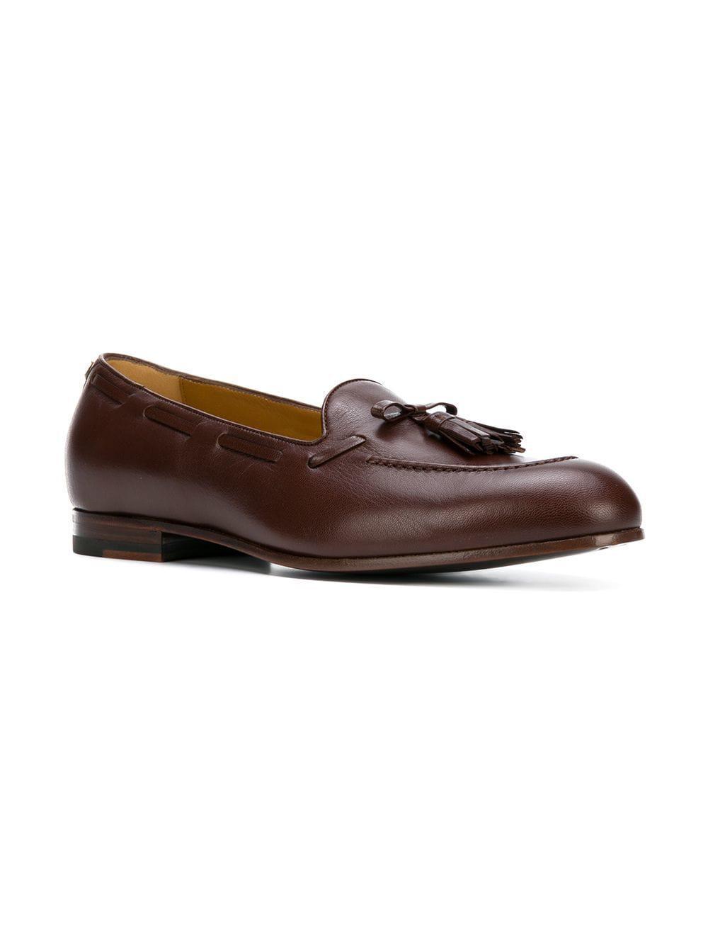 bdde3835509 Lyst - Gucci Tassel Loafers in Brown for Men