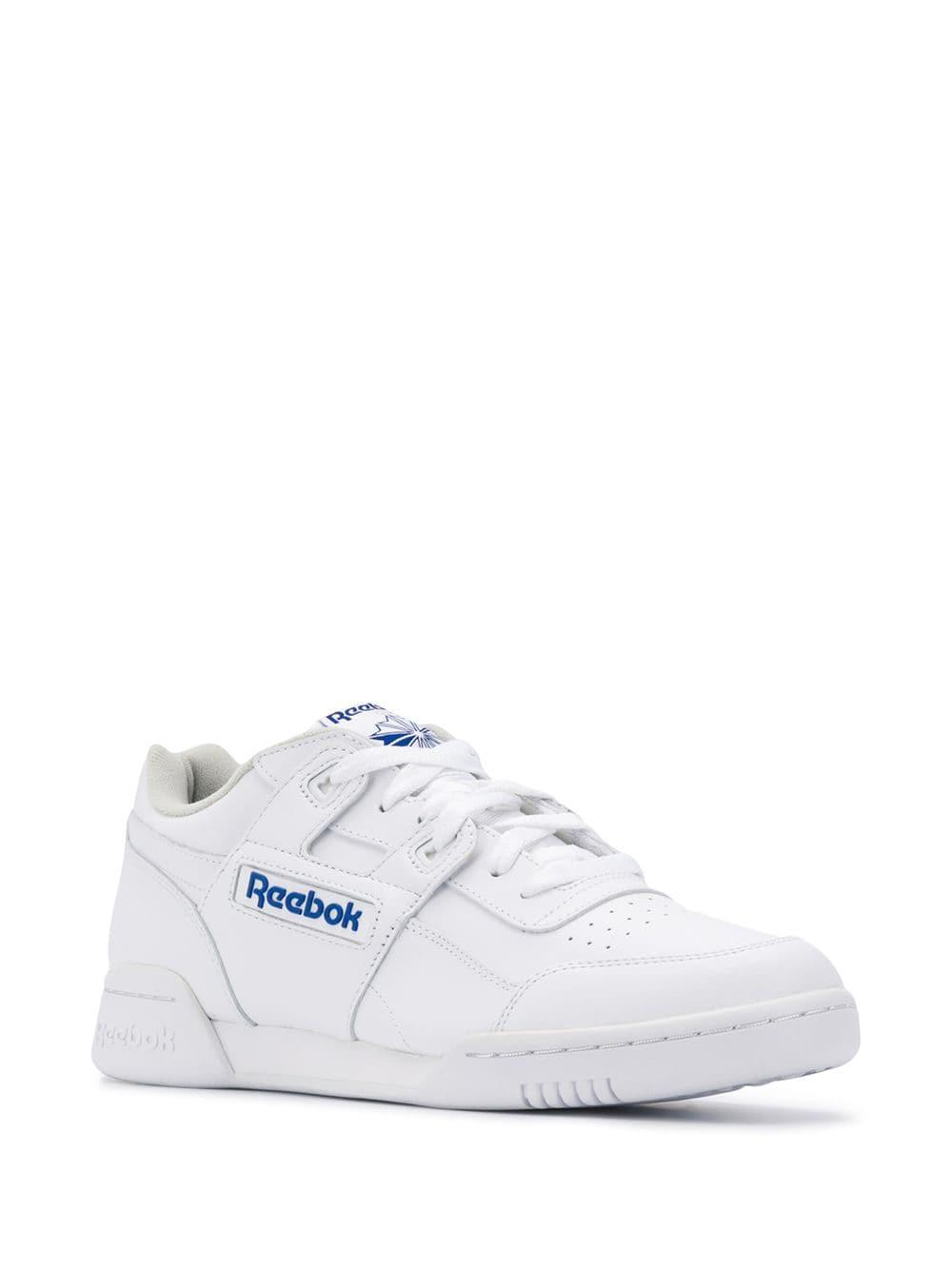 6e902790e4d Lyst - Reebok Workout Plus Sneakers in White for Men