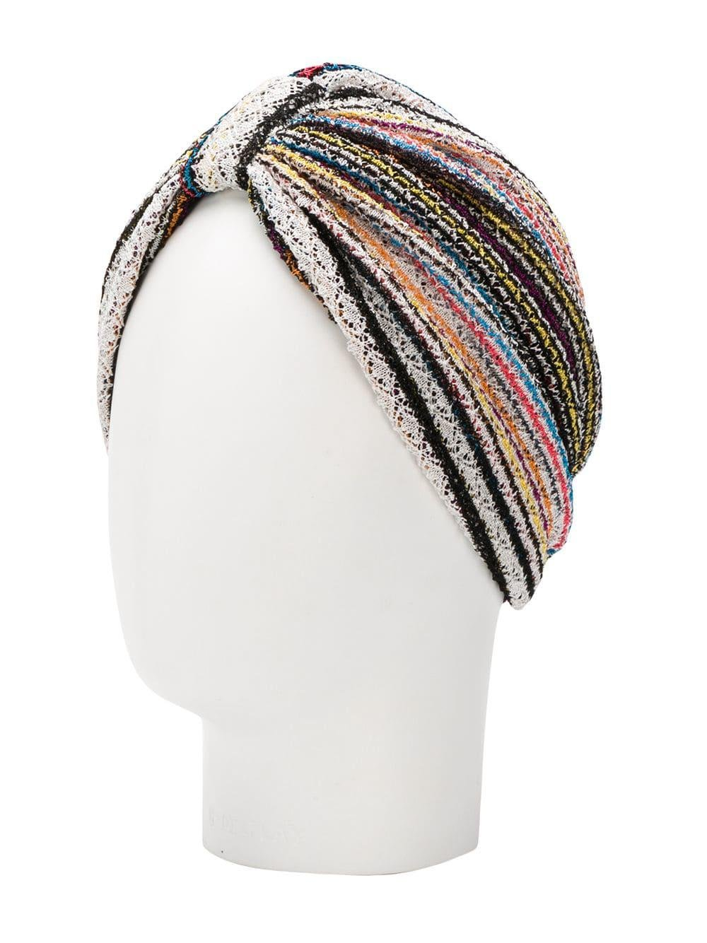 20771e46af9 Missoni - Blue Knitted Turban - Lyst. View fullscreen