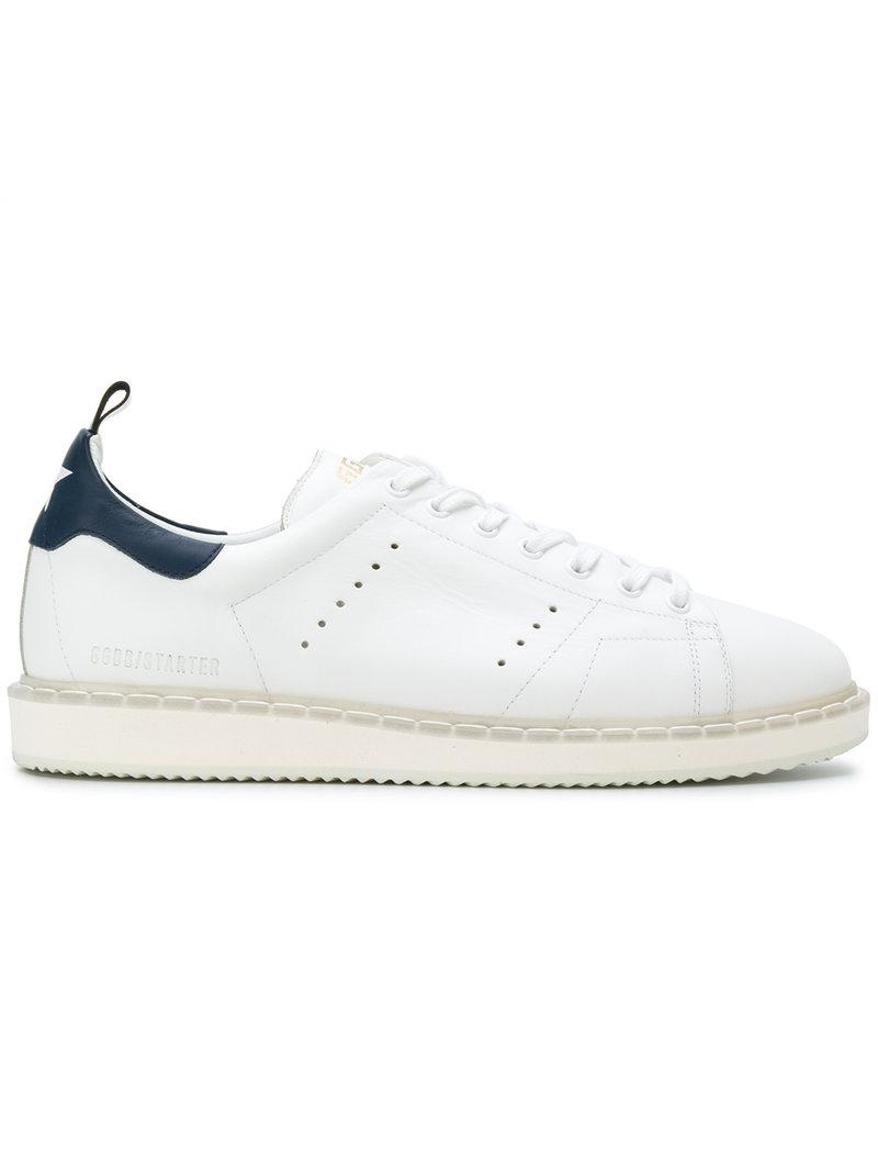 7676c3645cb9d Golden Goose Deluxe Brand  starter  Perforated Sneakers in White for ...