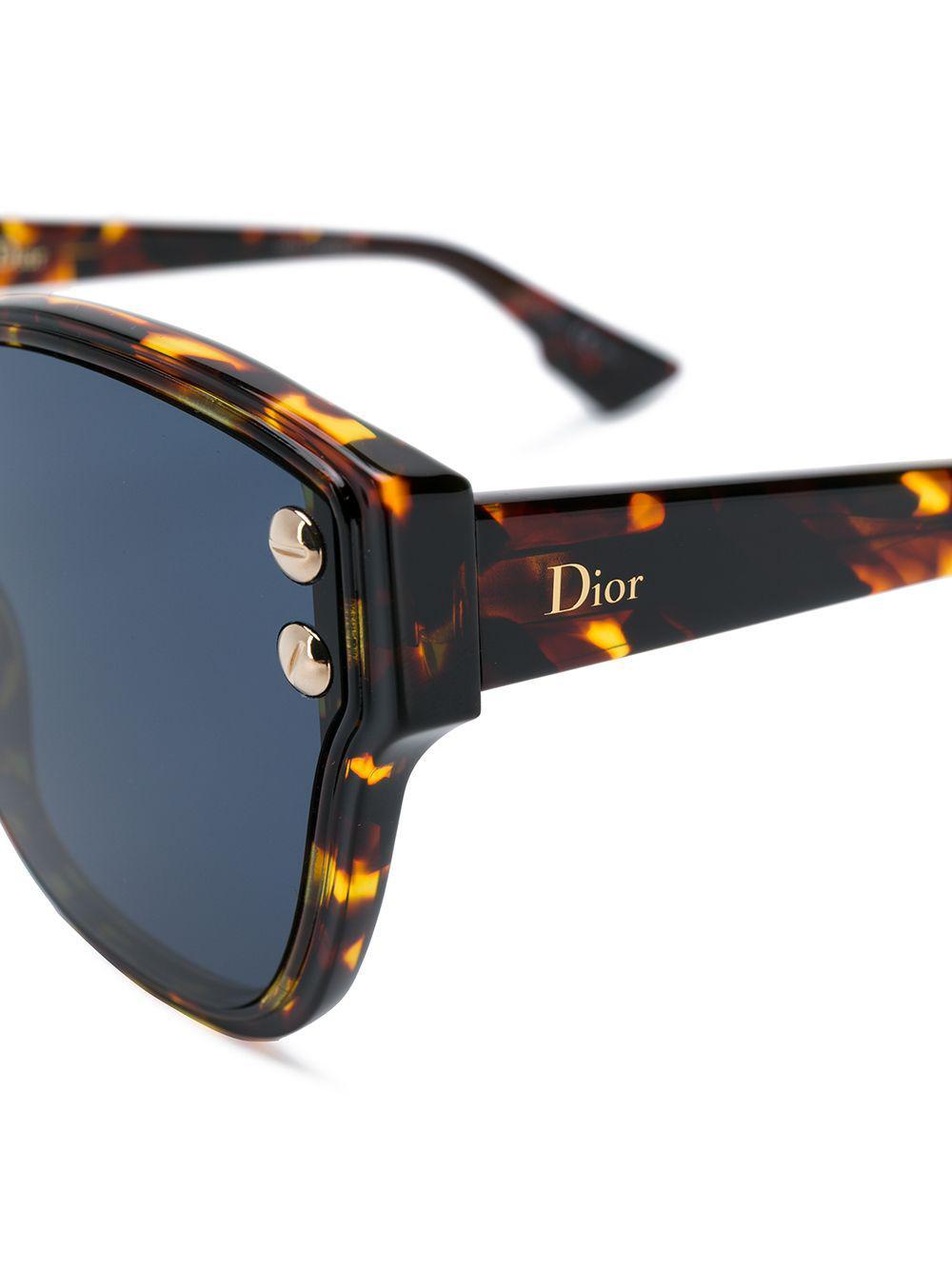 67f3b8b96d Dior Dior Addict 3 Sunglasses in Brown - Lyst
