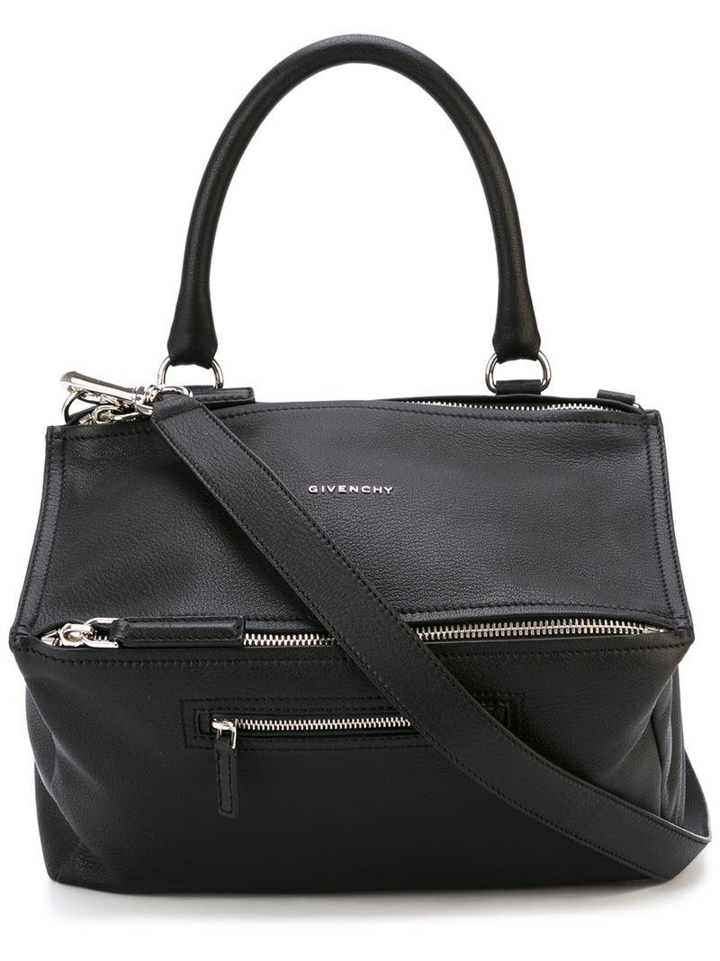 6afd2e5b36 Givenchy - Black Medium Pandora Tote - Lyst. View fullscreen