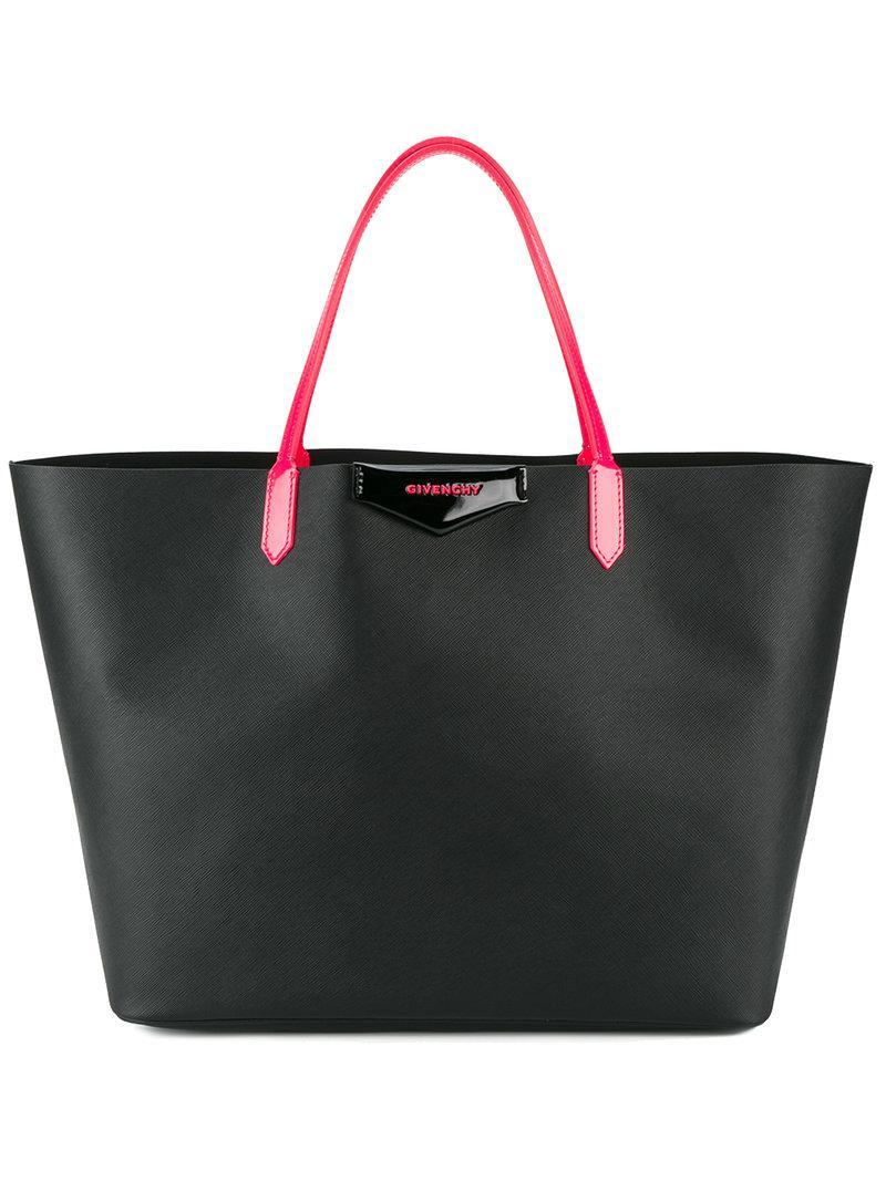 Givenchy - Black Large Antigona Tote Bag - Lyst. View fullscreen 13b4acb08f