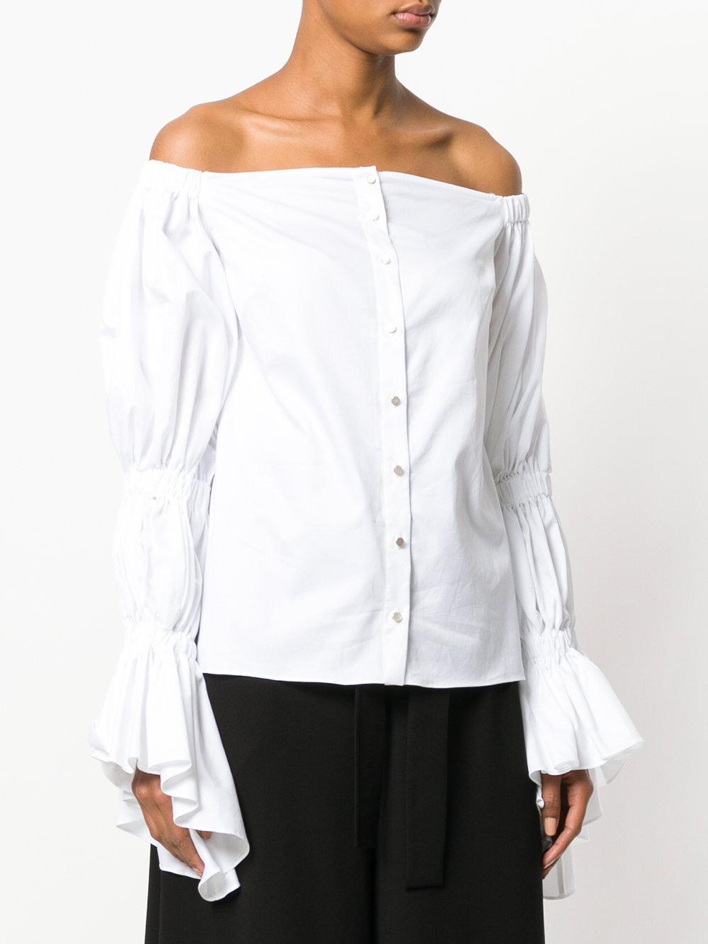 Womens Bianca Tieneck Cotton Twill Blouse Osman 2018 Newest Cheap Price GuvZ83