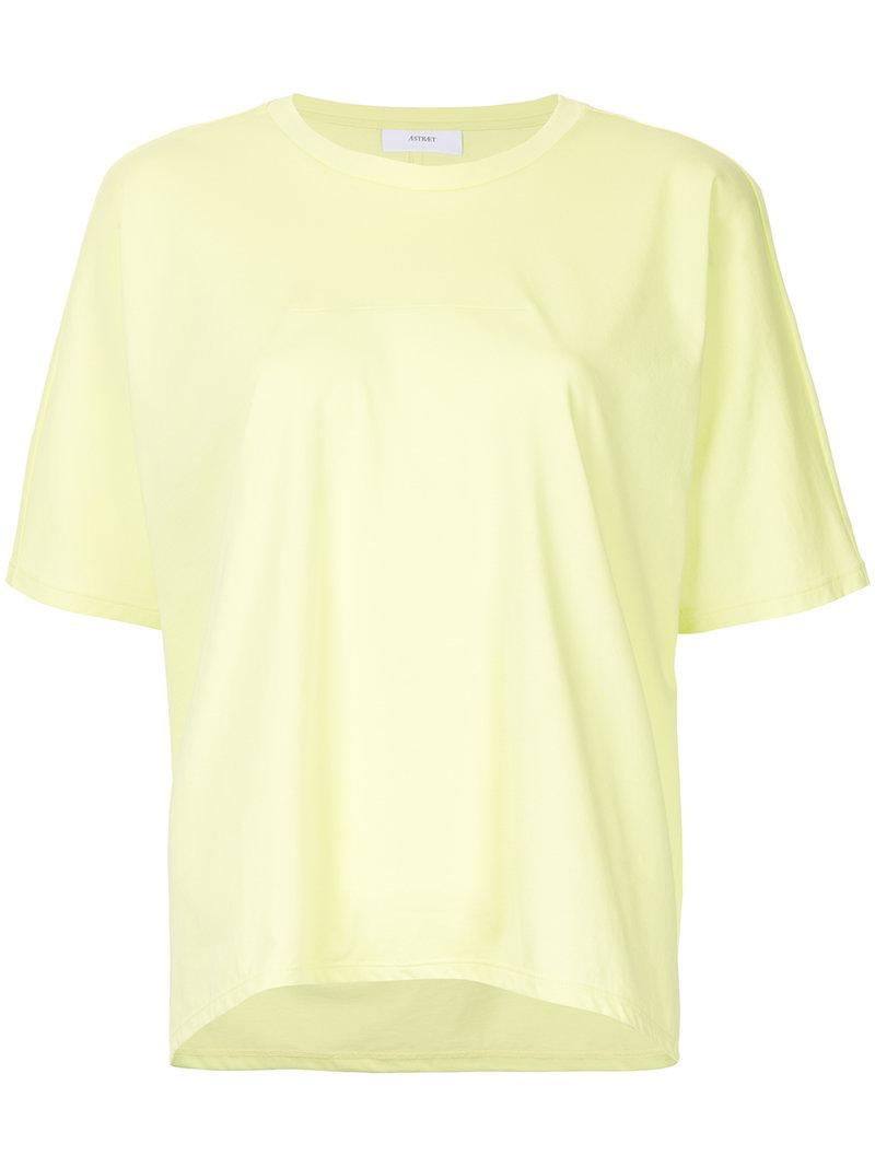 Buy Cheap Collections Outlet Good Selling loose-fit T-shirt - Yellow & Orange Astraet Free Shipping 2018 New Outlet Visit New Great Deals Sale Online 8Ay6LfMy