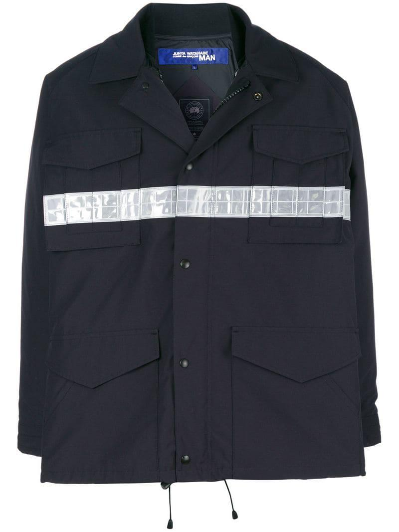 eb725d75e1e Lyst - Junya Watanabe Junya Watanabe X Canada Goose Jacket in Blue ...