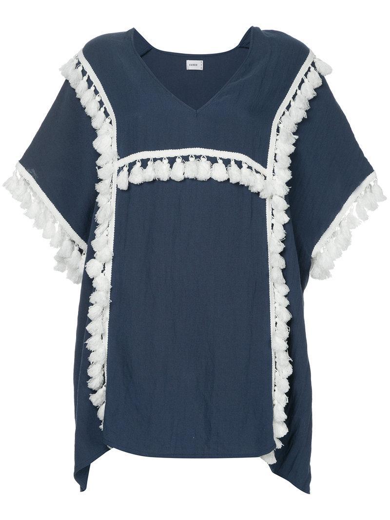Playa kaftan - Blue Suboo Cheap Sale Fashionable Buy Cheap Buy XVsajTE5j