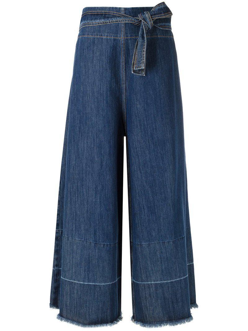 palazzo jeans - Blue Uma lMJVPiZGP