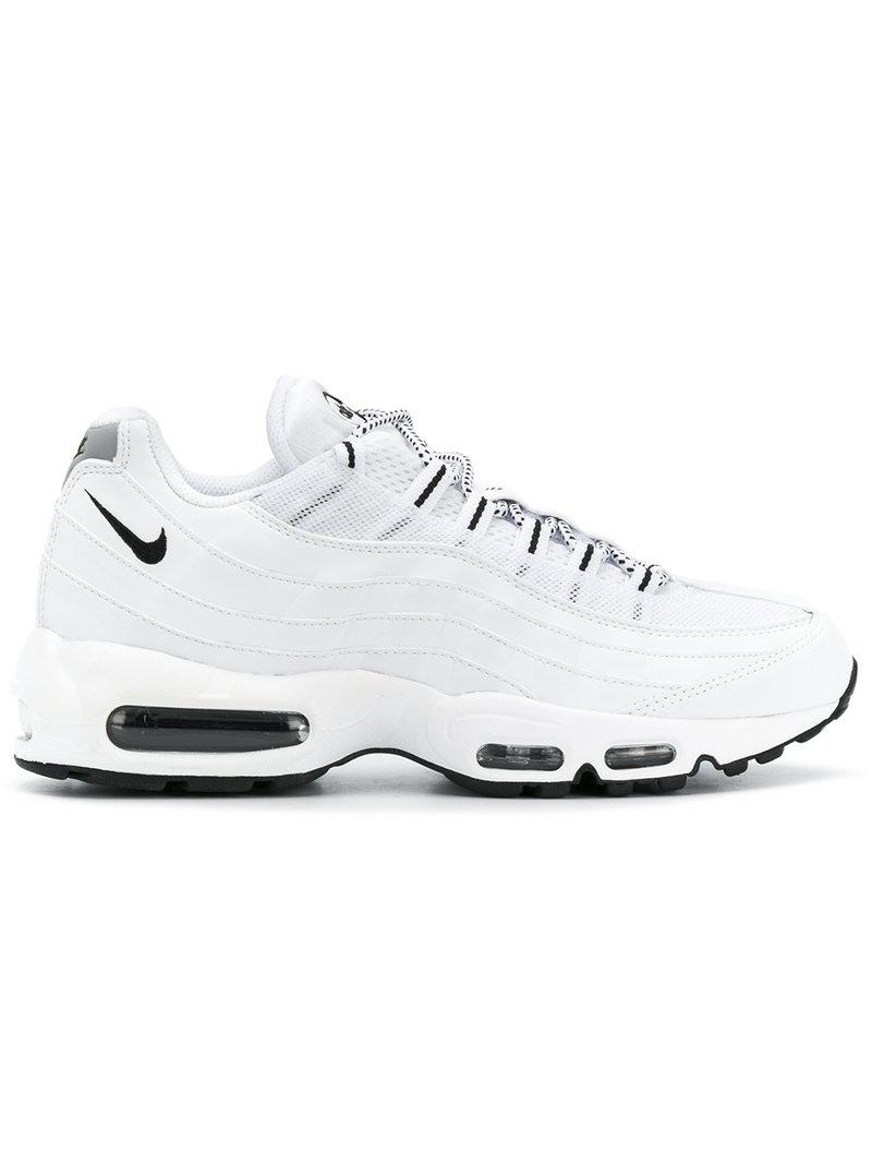 dbb8a96365c Lyst - Nike Air Max 95 Sneakers in White for Men