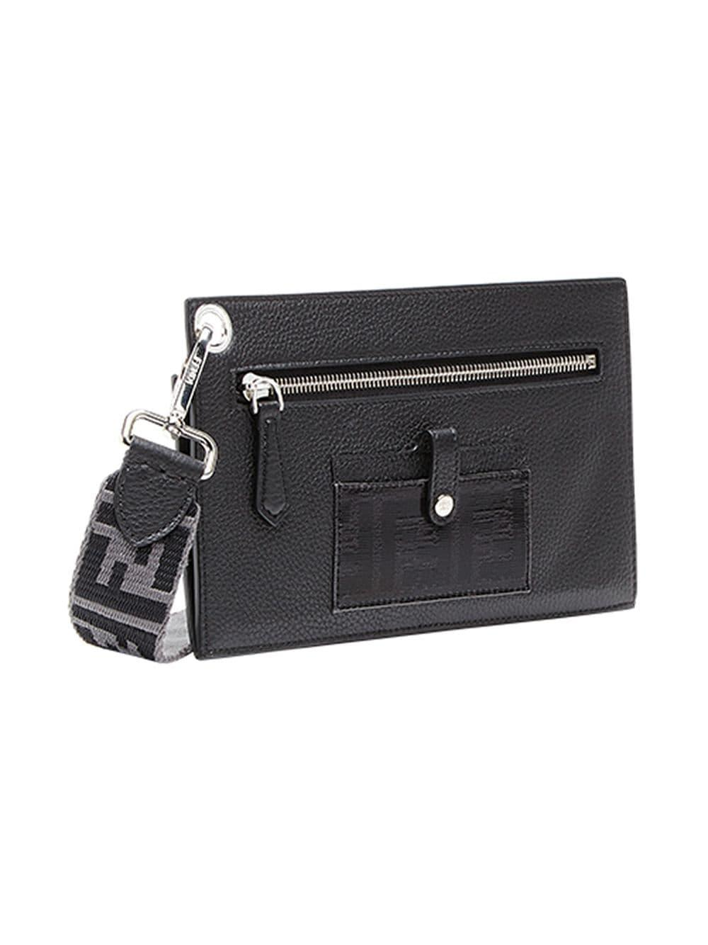 6bbc6775220d Fendi - Black Small Travel Clutch Bag for Men - Lyst. View fullscreen