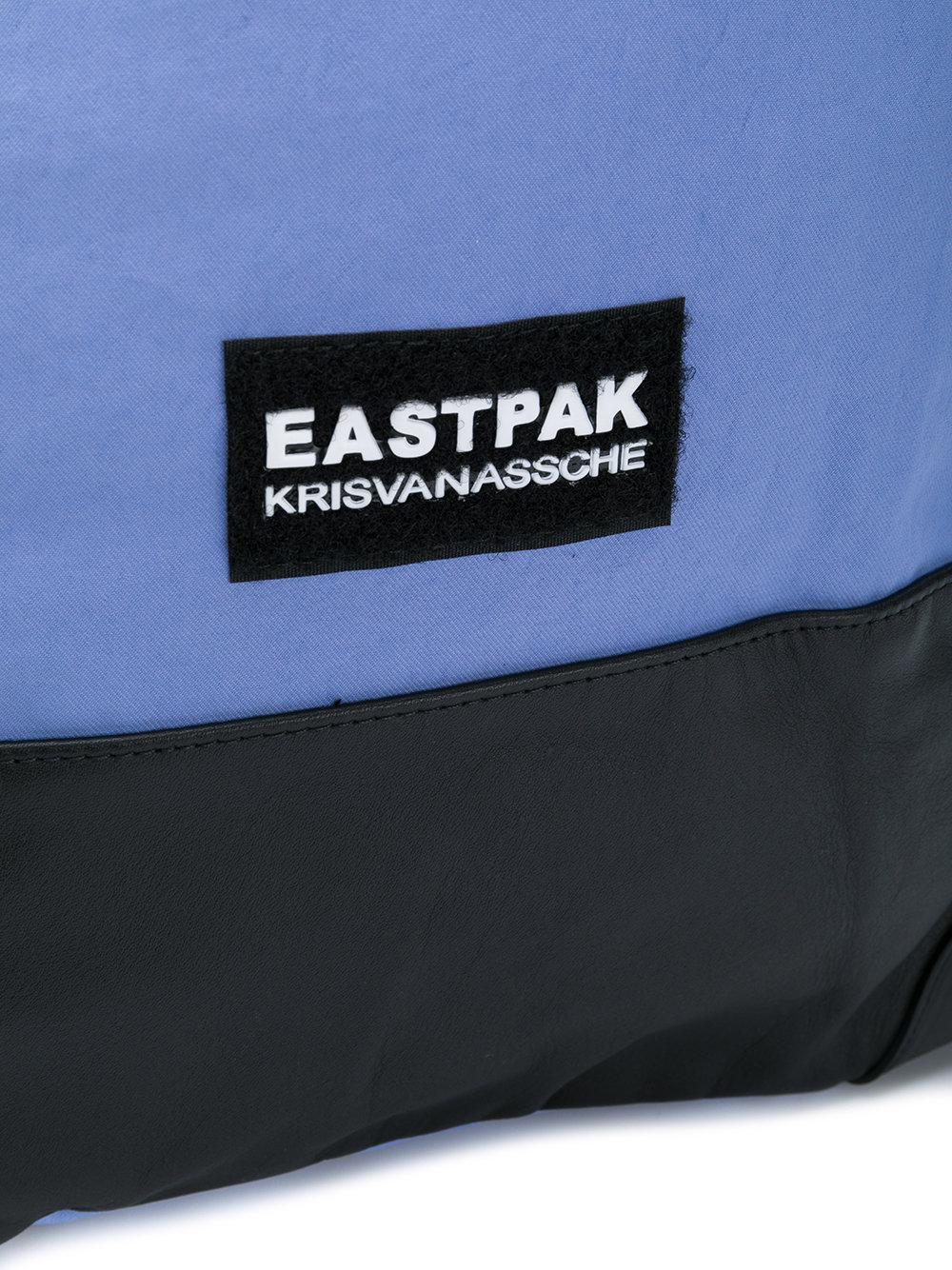 À Coloris Logo Sac Bleu Dos En Lyst Eastpak Pour Patch Homme Z5gznqw
