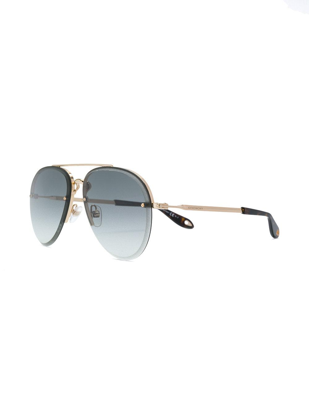cb3ed90febc Lyst - Givenchy Gv 707 Palladium Sunglasses in Metallic for Men