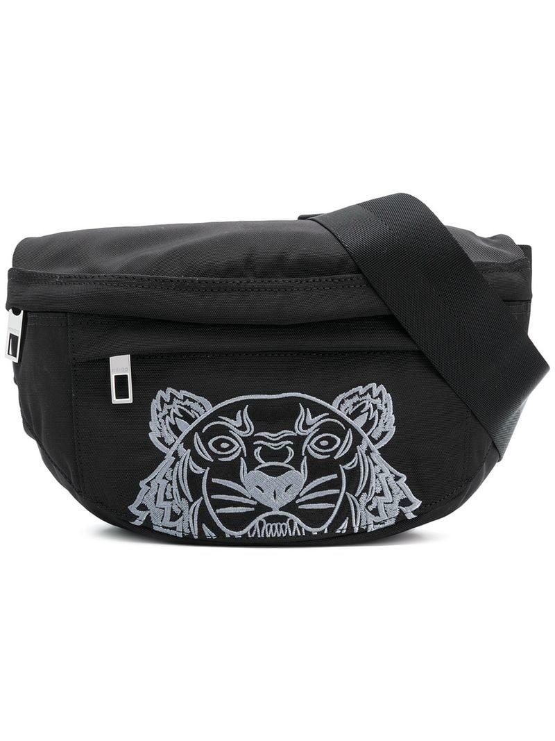 d63f5a3f62 KENZO Tiger Body Bag in Black for Men - Lyst