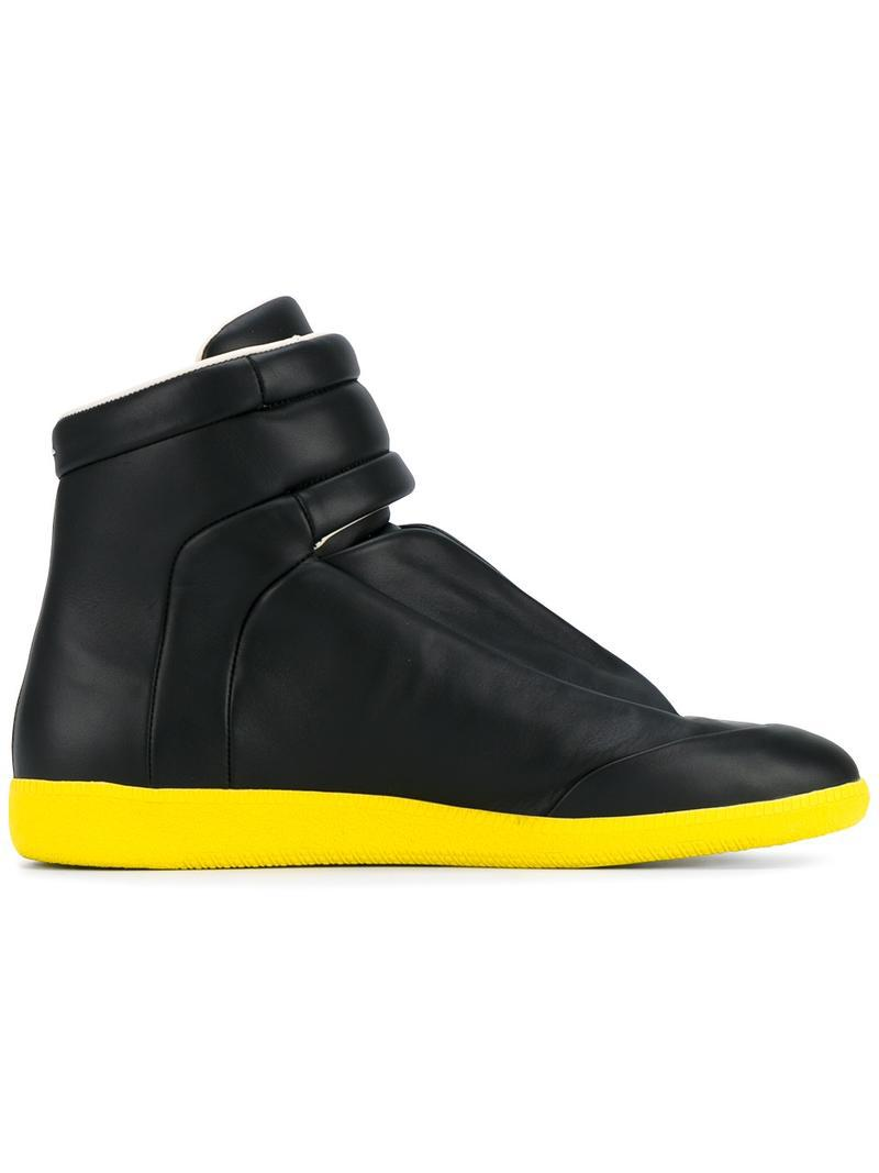 Stereotype hi-top sneakers - Black Maison Martin Margiela