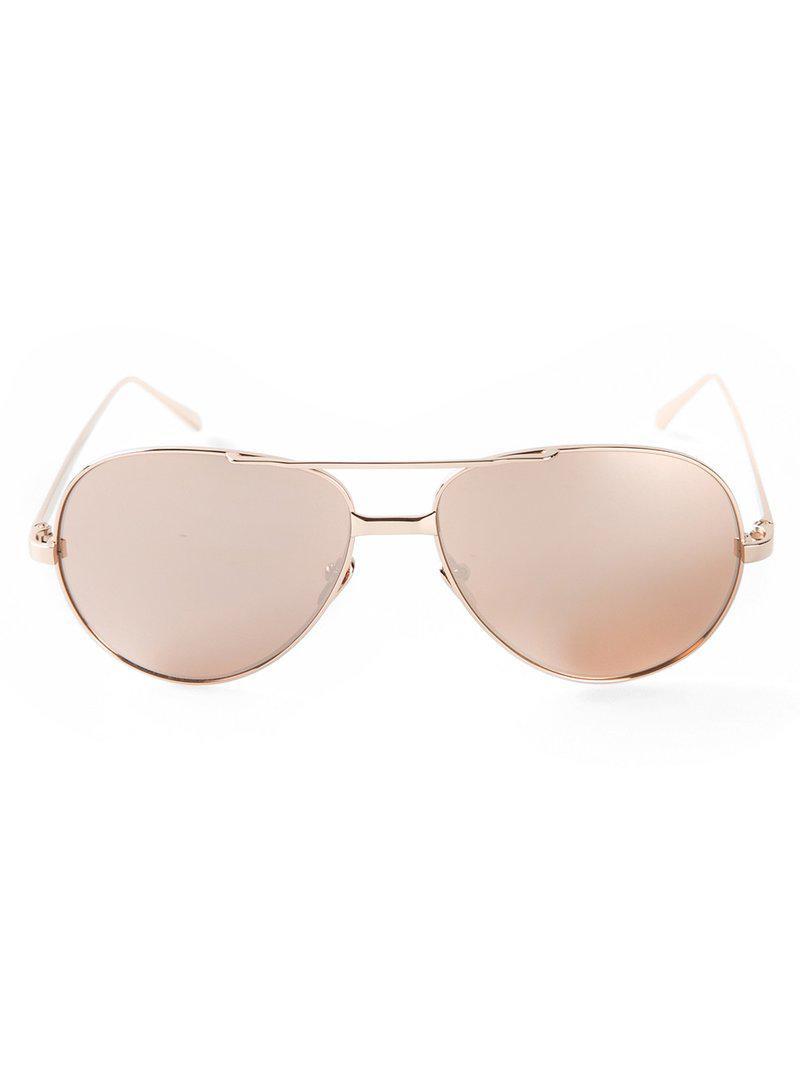 Linda Lyst 128' Natural ' Farrow Sunglasses In pF1prqw