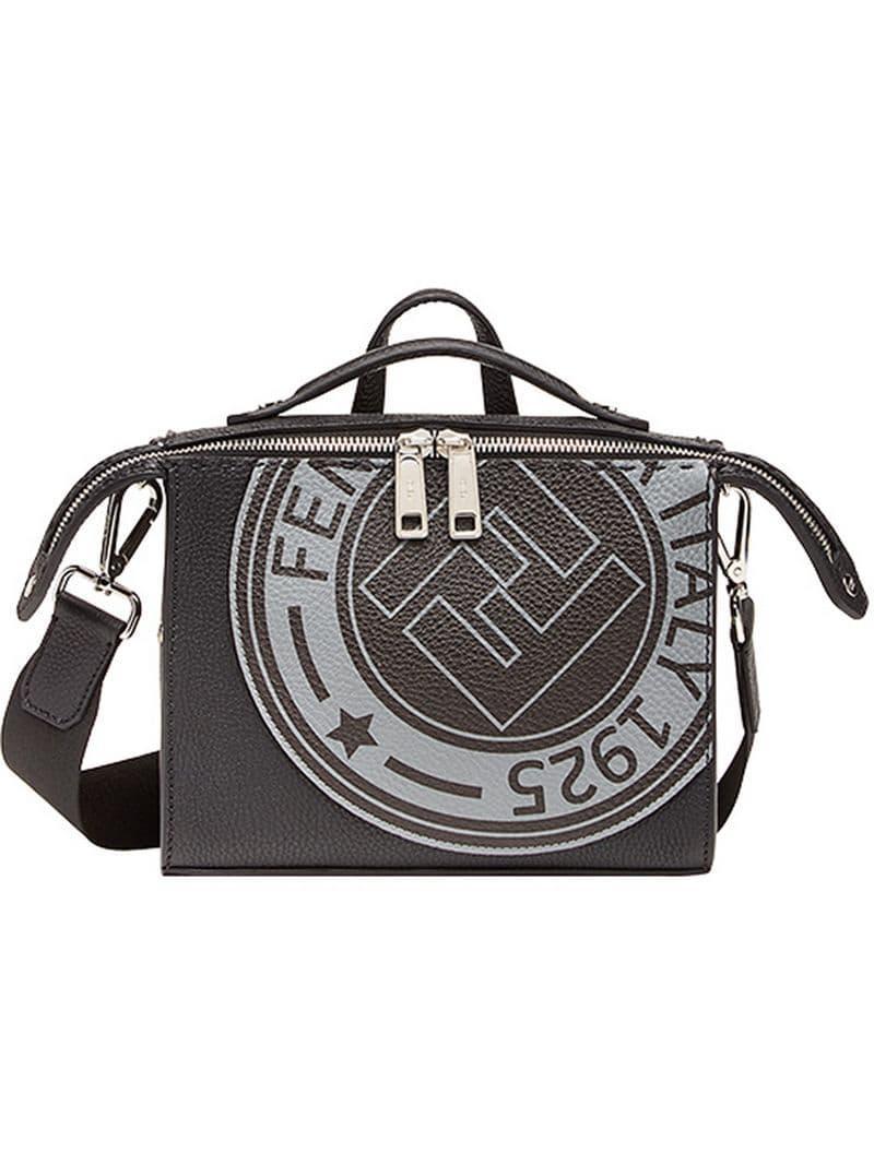 82a4b7013858 Lyst - Fendi Logo-stamp Lui Bag in Black for Men