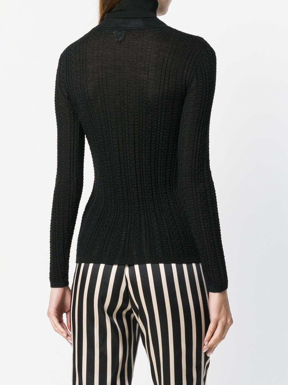 M Missoni turtle-neck fitted top Top Quality Online oD6gWltoi