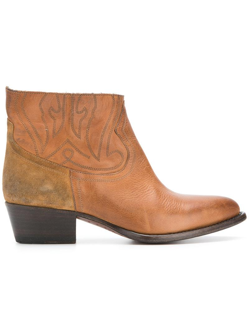 Buttero western ankle boots outlet 100% original 2GkwbR