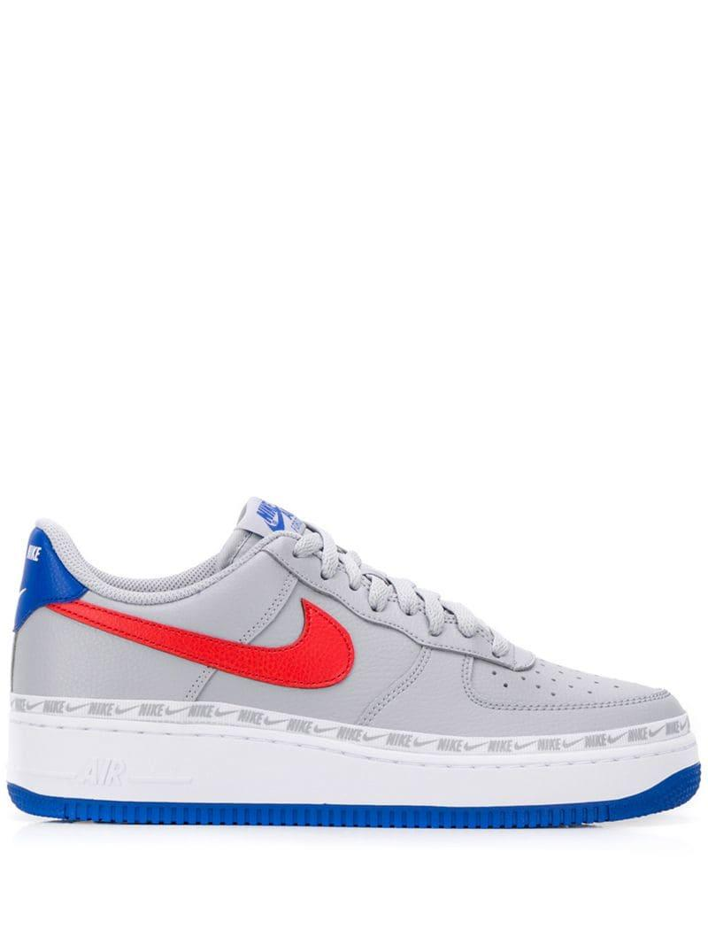 new style 79d38 cbcd2 Nike. Men s Gray Air Force 1  07 ...