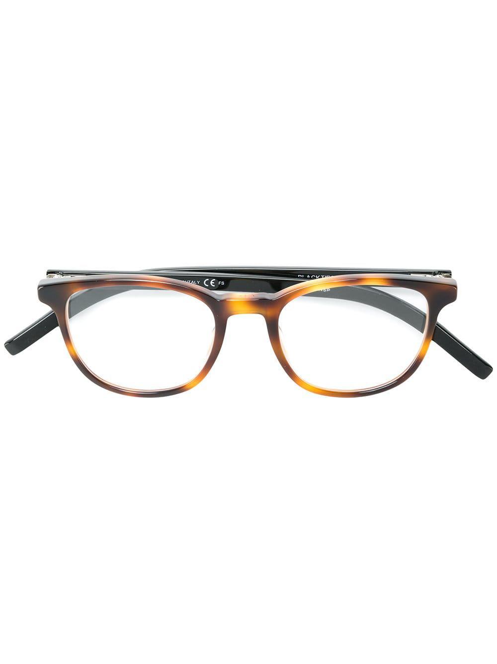 03560b11835cd5 Lyst - Lunettes de vue à monture carrée Dior pour homme en coloris ...