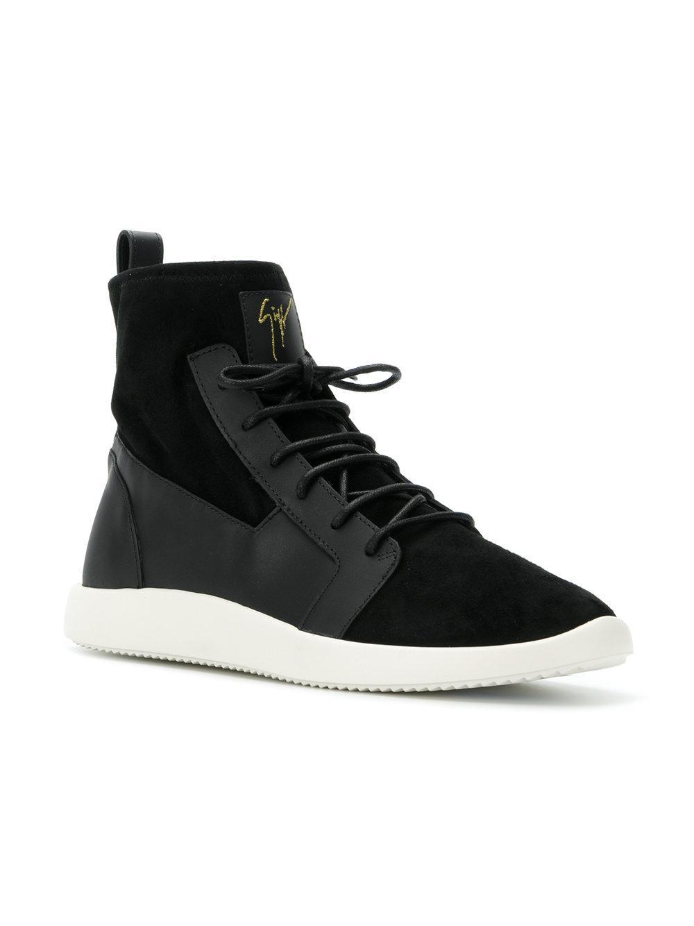 neoprene sock sneakers - Black Giuseppe Zanotti mYdpz5H