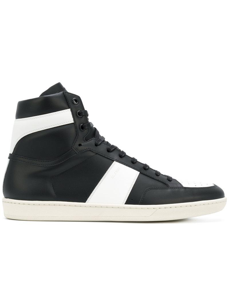 57f741e9271 Lyst - Saint Laurent Signature Court Classic Sl/10h Sneakers in ...
