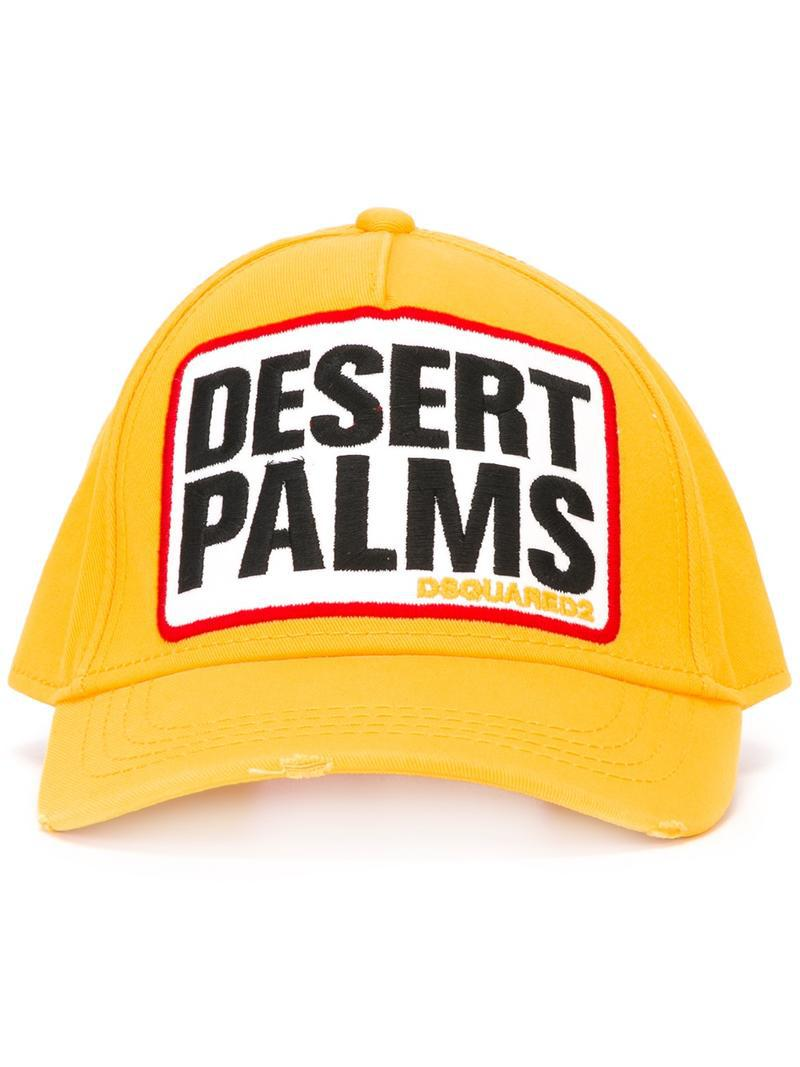 ee7bcbc328bce4 DSquared² Desert Palms Baseball Cap for Men - Lyst