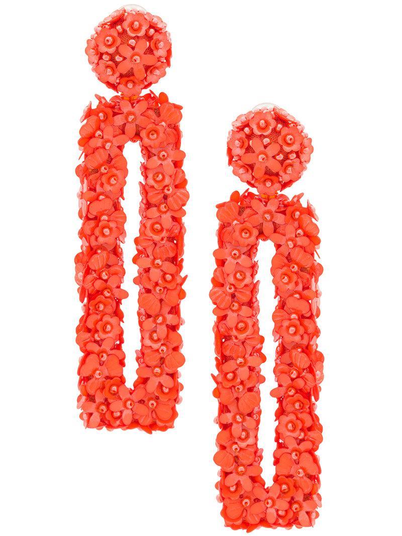 Fleur bouquet earrings - Yellow & Orange Sachin & Babi Aj2Ij9i