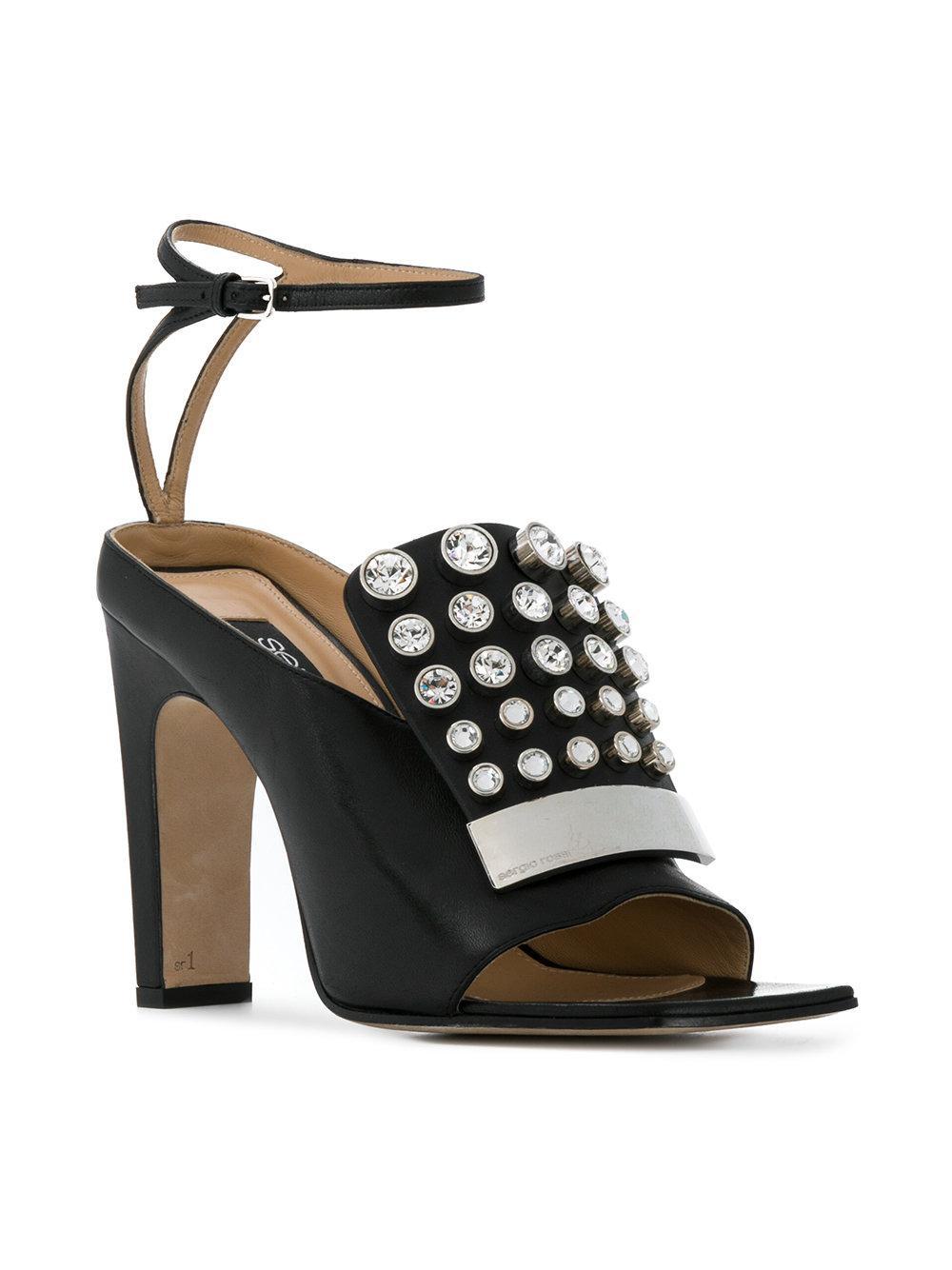 SR1 strappy sandals - Black Sergio Rossi RIz8Pe
