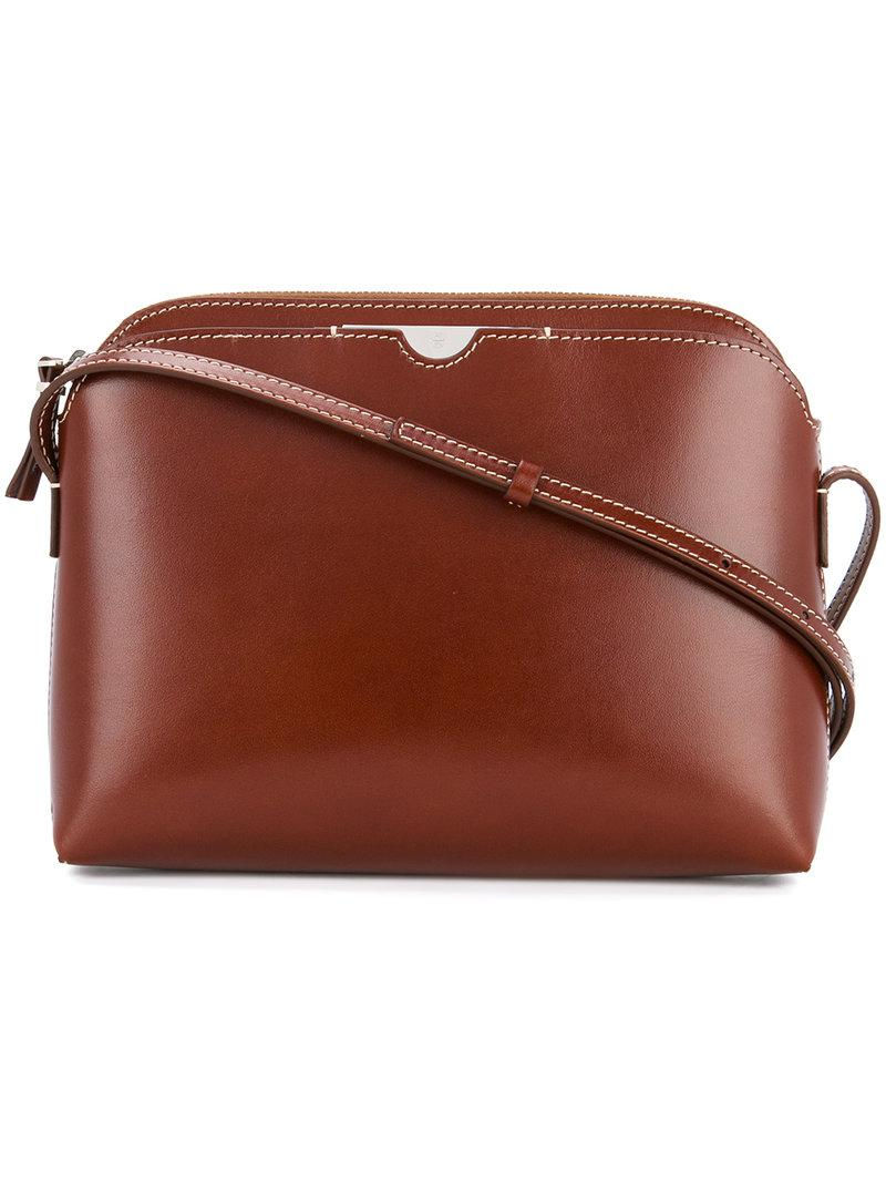 Lyst The Row Multi Pouch Shoulder Bag In Brown Gallery