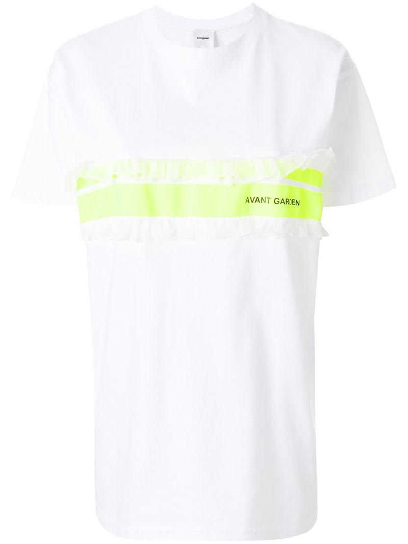 Blind For Lallo T-shirt - White Brognano Cheap Outlet Locations Discount Best Store To Get Great Deals Cheap Online Great Deals Sale Online Cheapest Cheap Online bsNMZeAok