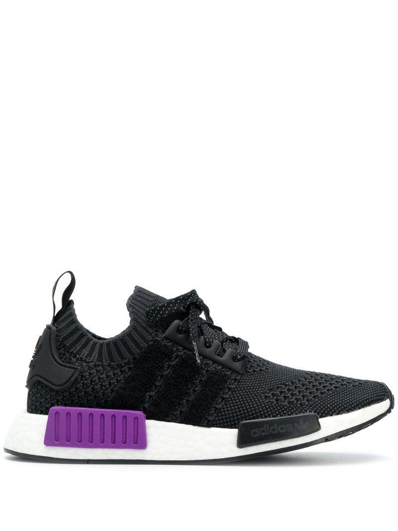 0e29591ba Adidas - Black Nmd R1 Primeknit Sneakers - Lyst. View fullscreen